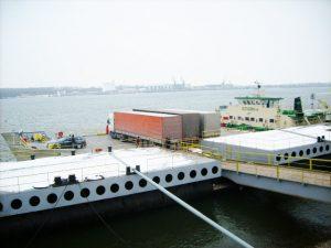 Фериботът Свищов - Зимнич